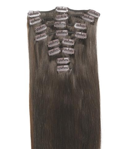 Peak´s Clip-on hair #4 brown