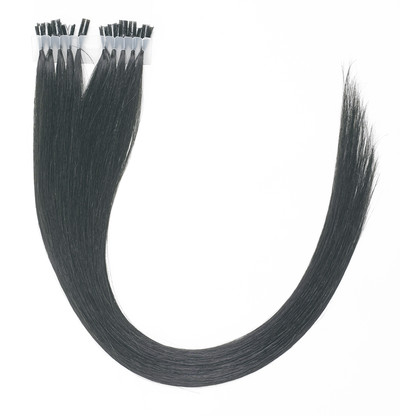 Peak´s Keratin extensions straight #1 black