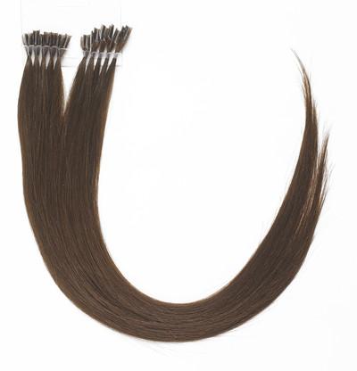 Peak´s Keratin extensions straight #3 chestnut brown