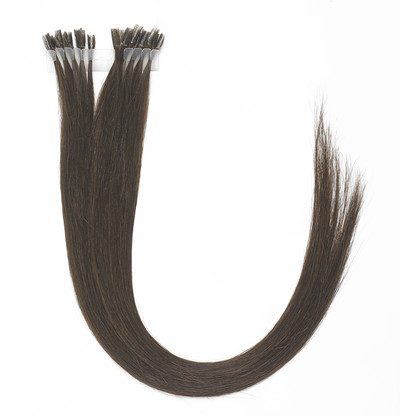 Peak´s Keratin extensions straight #4 brown