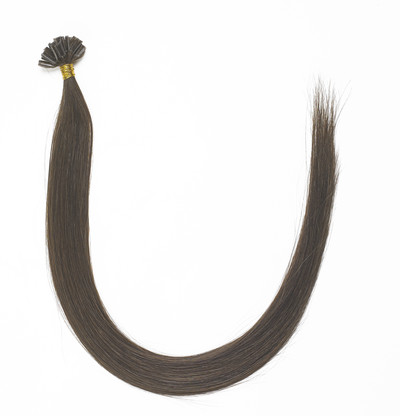 Peak´s Keratin extensions straight#6 light brown