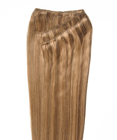 Peak´s Weft #26/12 golden beige/dark golden blonde REMY