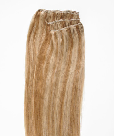 Peak´s Weft #613/26 light blonde/golden beige REMY