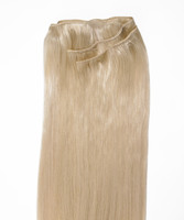 Peak´s Weft #1001 X-light blonde REMY 45 cm