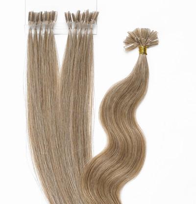 Peak´s Keratin extensions straight #18/22 ash blonde