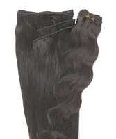 Peak´s Weft #2 vågig dark brown REMY