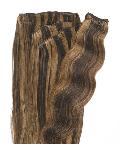 Peak´s Weft #12/4 wavy light brown REMY